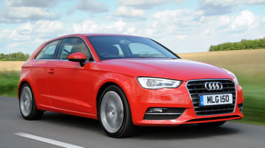Audi A3 2.0 TDI Sport front action