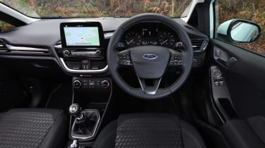 Ford Fiesta long term test - first report dash
