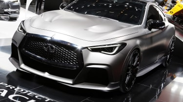 Infiniti Q60 Project Black S Geneva - front