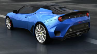 Lotus Evora GT430 Sport - rear