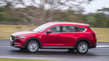 Mazda CX-8 - front action