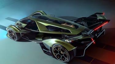 Lamborghini Lambo V12 Gran Turismo - aerial rear static