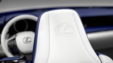 Lexus LC Convertible - Lexus seat badge