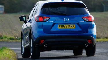 Mazda CX-5 rear tracking