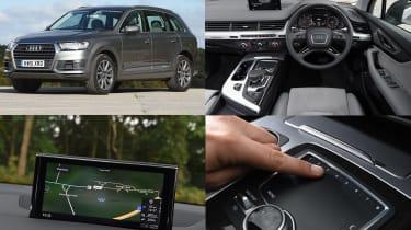 Audi MMI infotainment system - test car: Audi Q7