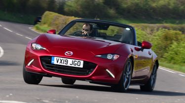 Mazda MX-5 long termer - first report header