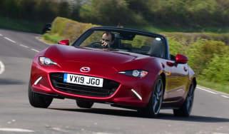 Mazda MX-5 long termer - first report header