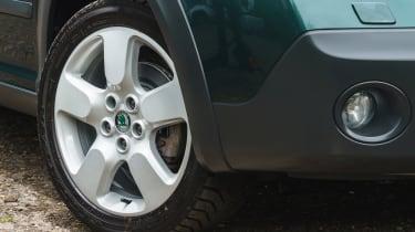 Skoda Octavia Scout - wheel