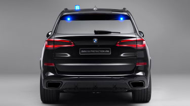 BMW X5 Protection VR6 - full rear