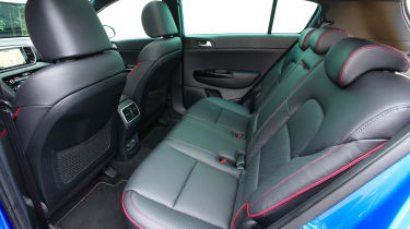 Kia Sportage 48V hybrid - rear seats