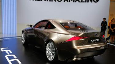 Lexus LF-CC side