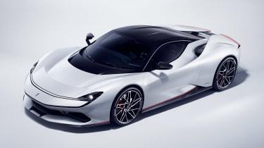 Pininfarina Battista - white front