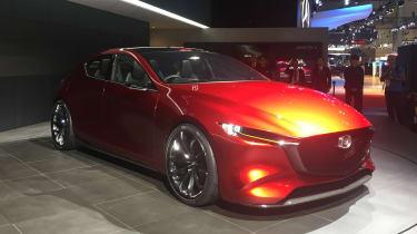 Mazda KAI concept - reveal front