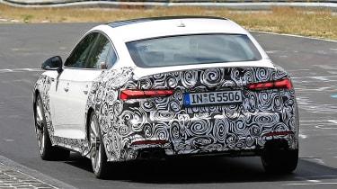 Audi S5 Sportback - spyshot 7