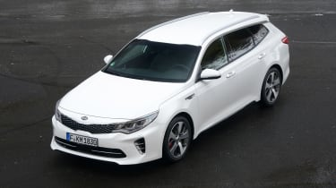Kia Optima GT - front static