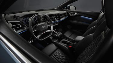 Audi Q4 e-tron - cabin