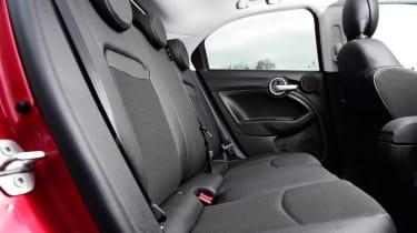 Used Fiat 500X - rear seats
