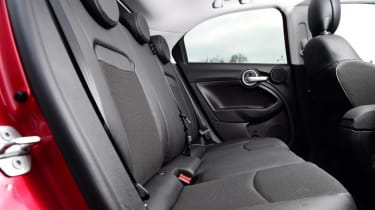 Used Fiat 500X - rear seats
