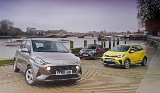 Hyundai i10 group test