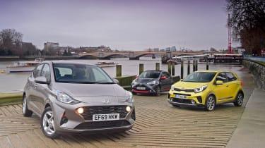 Hyundai i10 group test