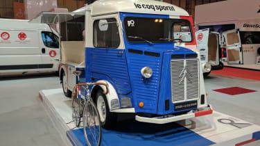 Citroen H van Le Coq Sportif - front CV show