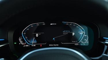 BMW 5 Series - dials