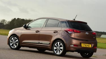 Used Hyundai i20 - rear