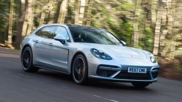 Porsche Panamera Turbo Sport Turismo - front action