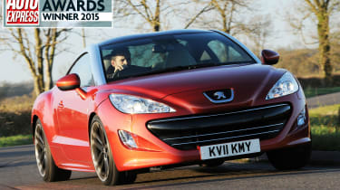 Best used coupe Peugeot RCZ