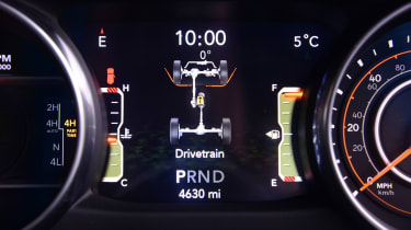 Jeep Wrangler - dials