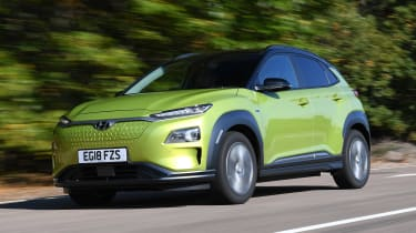 Hyundai Kona Electric Premium SE - long term first report front tracking
