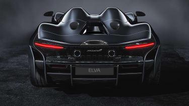 McLaren Elva - full rear
