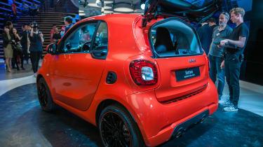 Smart Brabus - Fortwo show rear