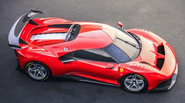 Ferrari P80/C - aerial static