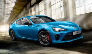 Toyota GT86 Club Series Blue Edition - front