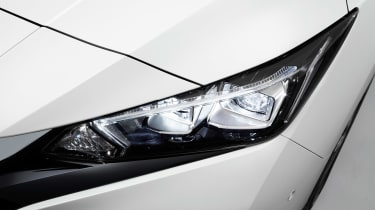 New Nissan Leaf - front light