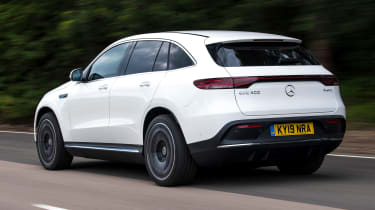 Mercedes EQC - rear tracking