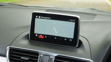 Mazda 3 - sat nav screen