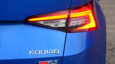 skoda kodiaq vrs rear light