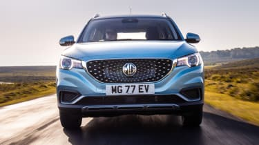 MG ZS EV front