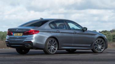 BMW 5 Series 2017 - 540i rear quarter