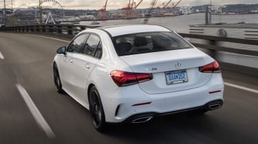 Mercedes A-Class Saloon - rear action