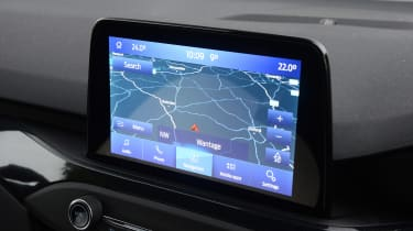 Ford Focus ST automatic - infotainment