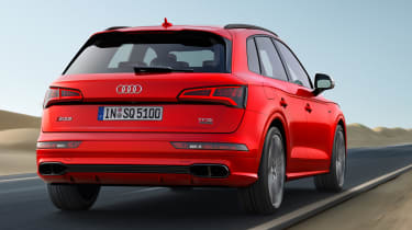 Audi SQ5 2017 - rear tracking