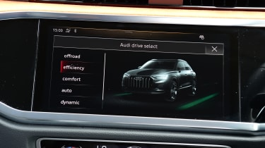 Audi Q3 - screen centre