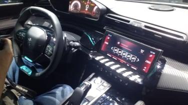 New Peugeot 508 interior