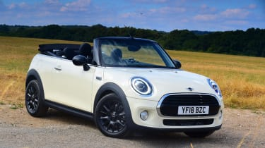 Mini Cooper Convertible Front Still