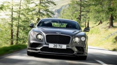 Bentley Continental Supersports 2017 - official front tracking 2