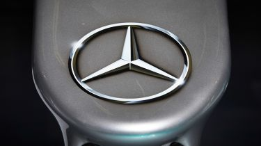 Mercedes badge - Formula One