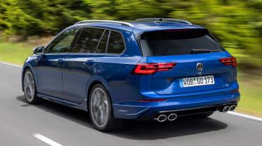 Volkswagen Golf R Estate - rear tracking